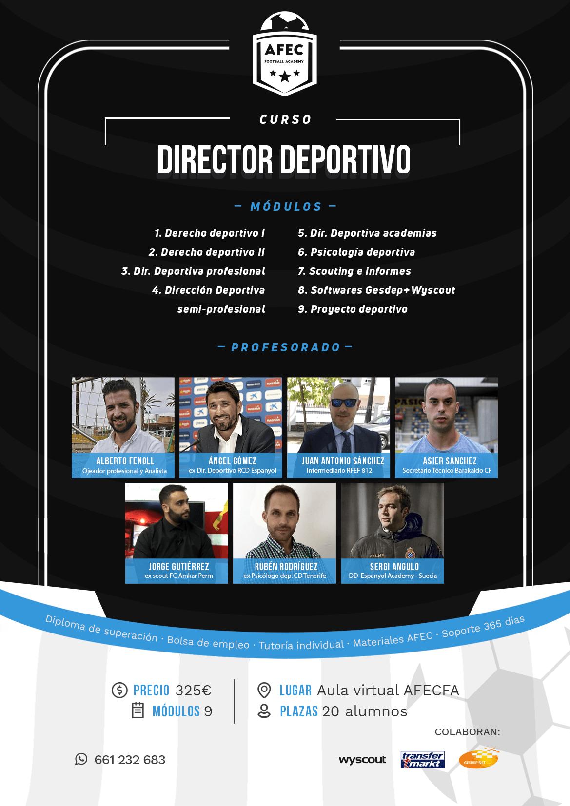 Curso Director Deportivo Online