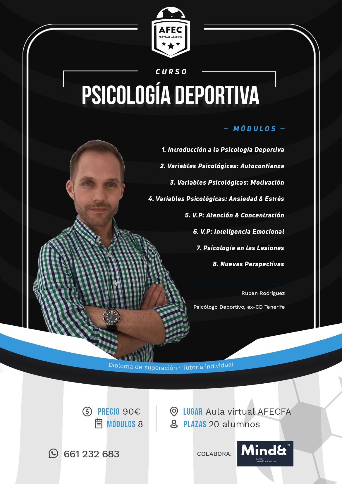 Curso de Psicología deportiva online